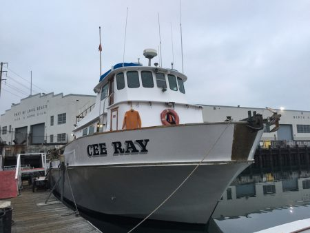 Cee Ray dive boat